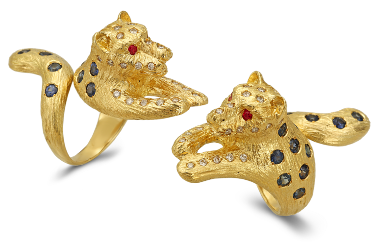 George's Panther ring